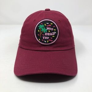 Not Dead Yet Party Patch Hat Slouch Dad Hat